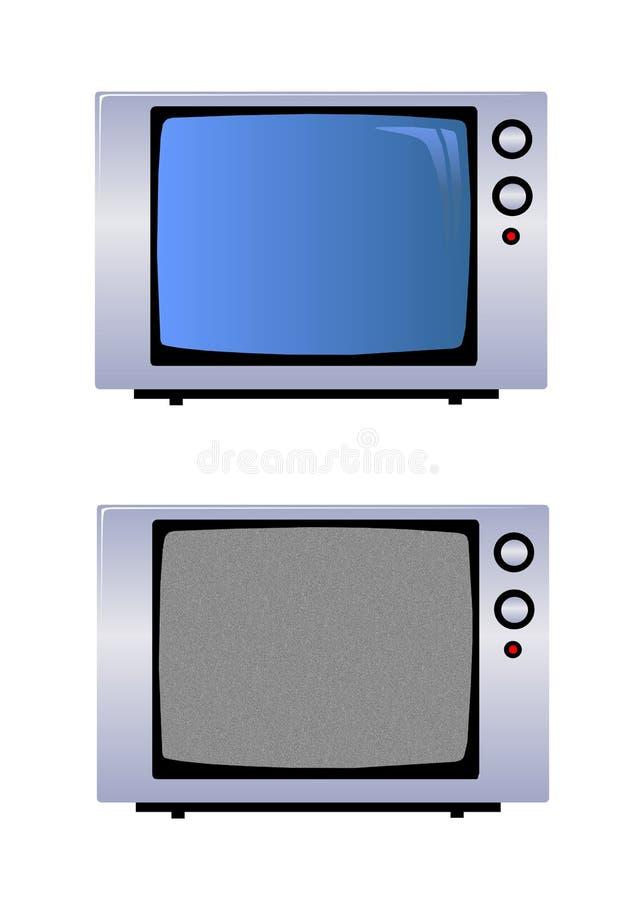 illustration TV réglée illustration libre de droits