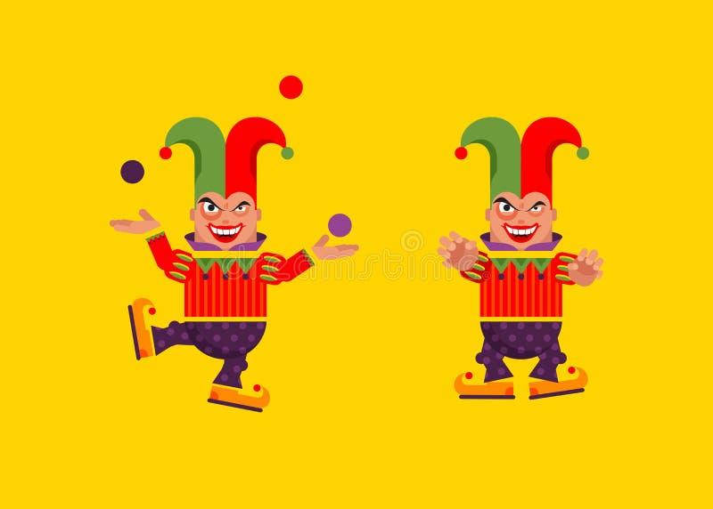 Download Illustration Un Caractère De Farceur Pour Halloween Dans Le Style Plat Illustration de Vecteur - Illustration du retrait, horreur: 76082127