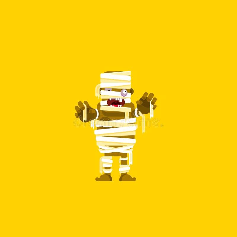 Download Illustration Un Caractère De Maman Pour Halloween Dans Le Style Plat Illustration de Vecteur - Illustration du abstrait, mignon: 76082099