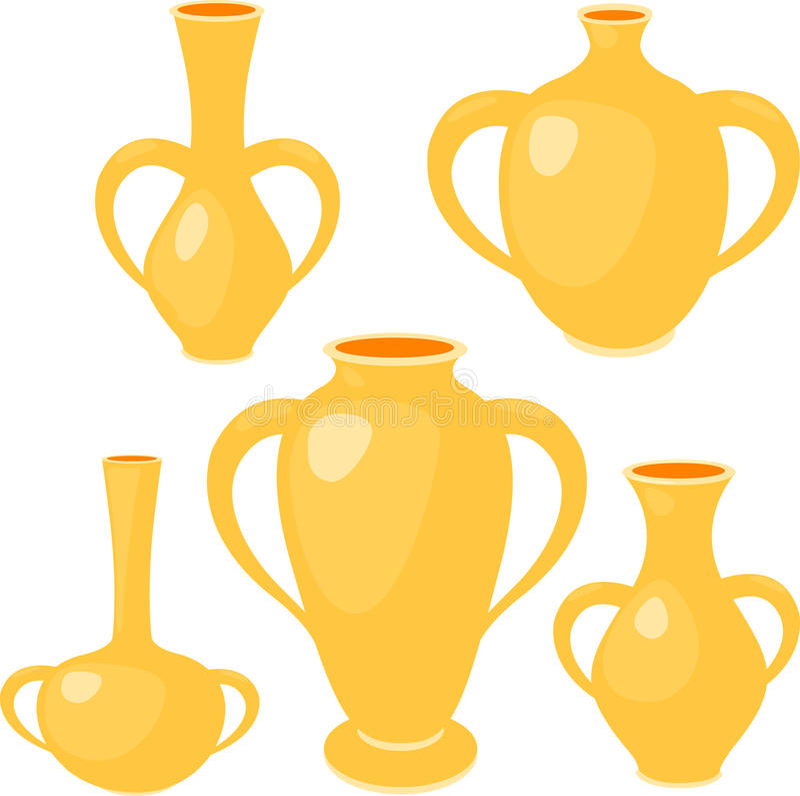 Download Illustration  Vase stock vector. Illustration of decoration - 22945703