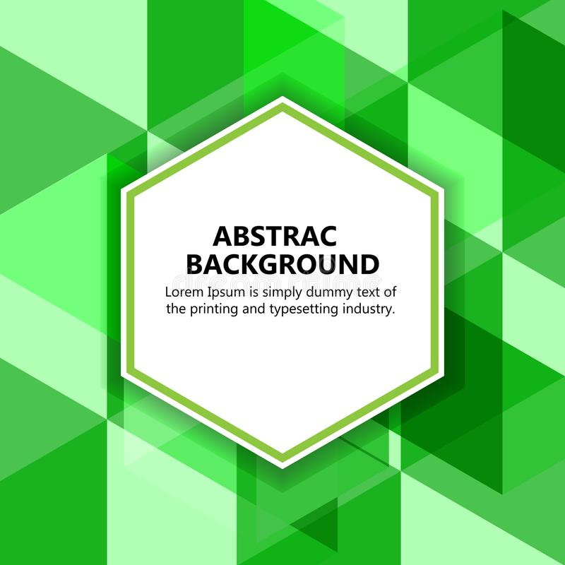 The illustration & x22;Vector abstract background. stock image