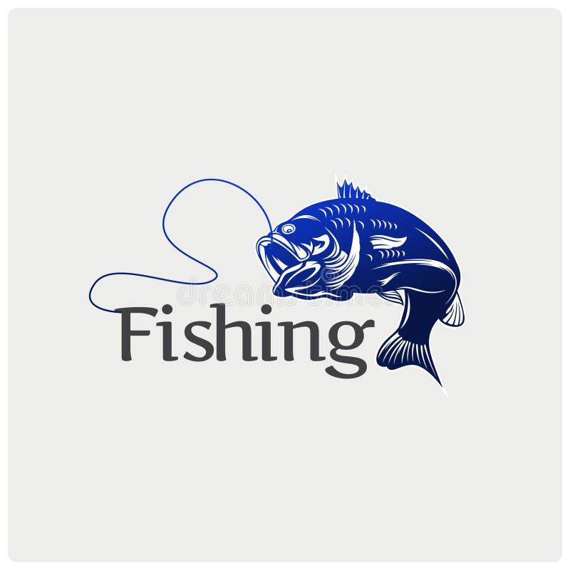 Bass Fish Skeleton Stock Vector  Illustration Of Fisherman