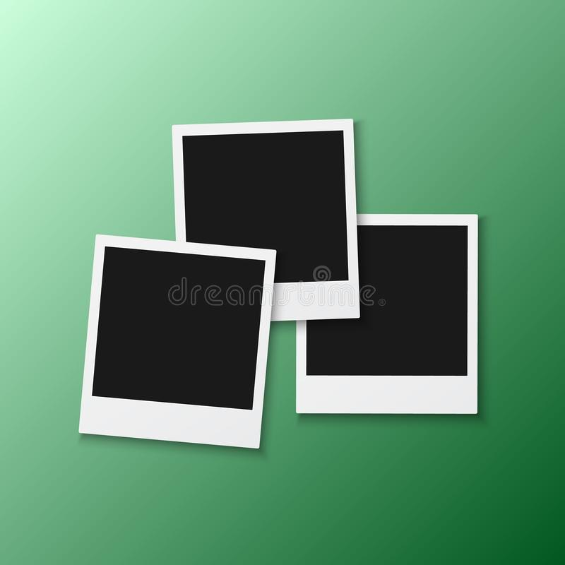 polaroids template