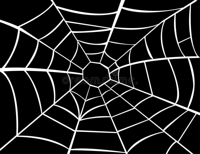 Illustration vectorielle de cobweb illustration libre de droits