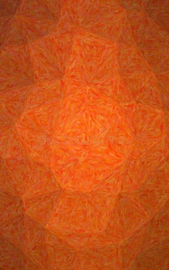 Illustration of Vertical orange Impasto with small brush strokes background. Illustration of Vertical orange Impasto with small brush strokes background royalty free stock photo