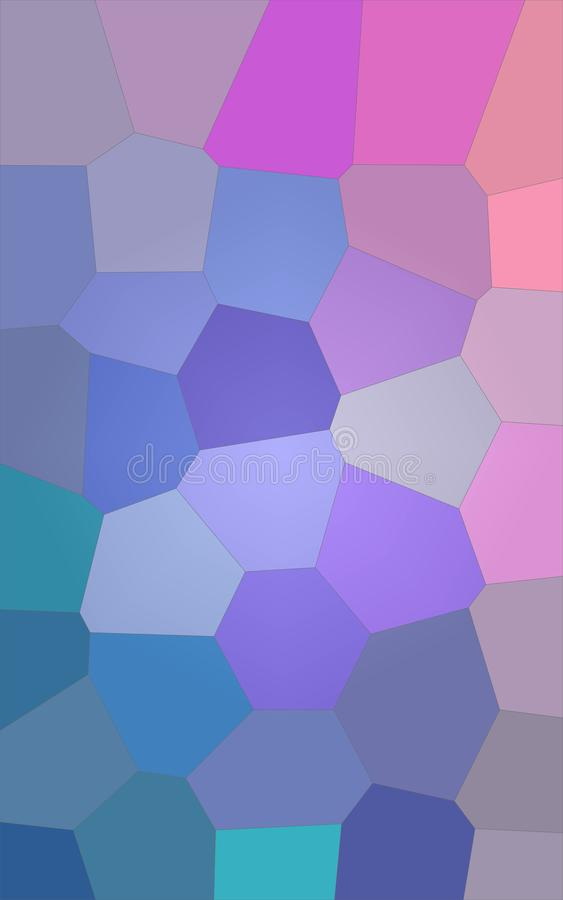 Illustration of Vertical red and blue bright Giant Hexagon background. Illustration of Vertical red and blue bright Giant Hexagon background stock illustration