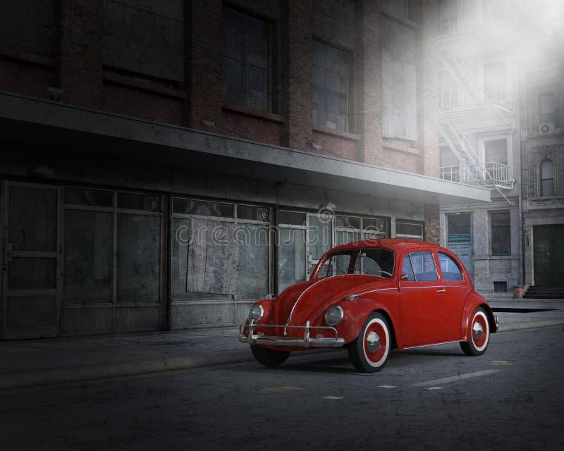 Volkswagen VW Car, Auto, City stock illustration