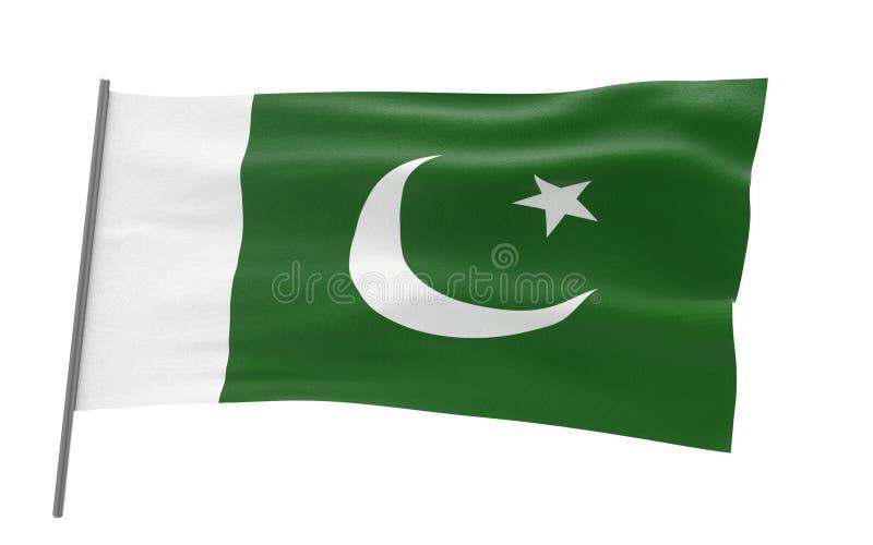 Flag of Pakistan vector illustration