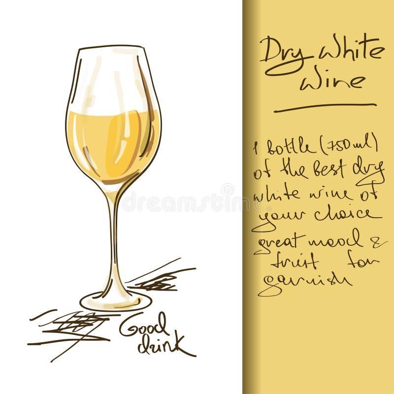Illustration of Wine cocktail