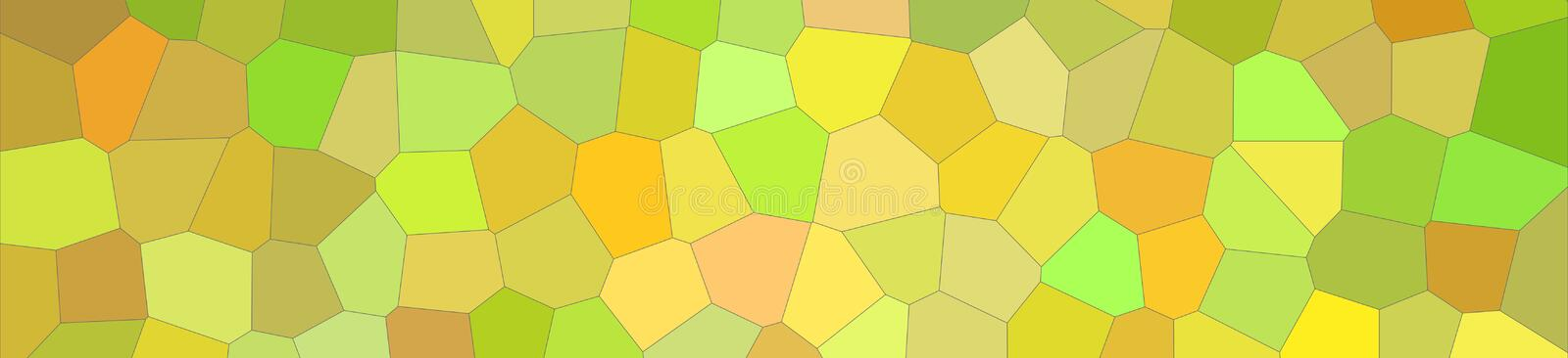 Illustration of yellow bright Middle size hexagon banner background. Illustration of yellow bright Middle size hexagon banner background vector illustration
