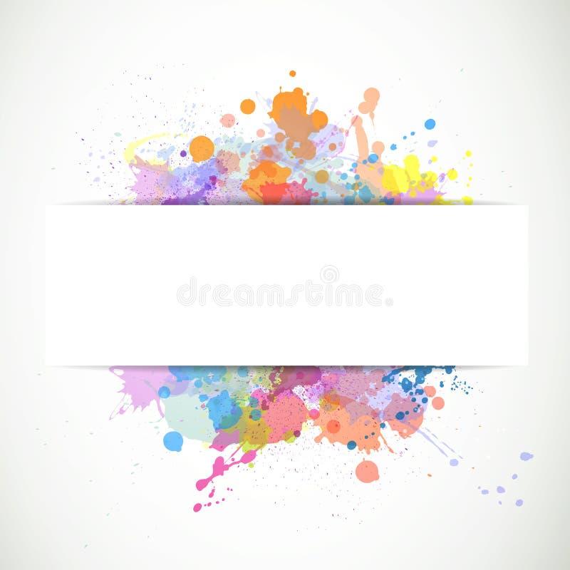 Grafisk design stock illustrationer
