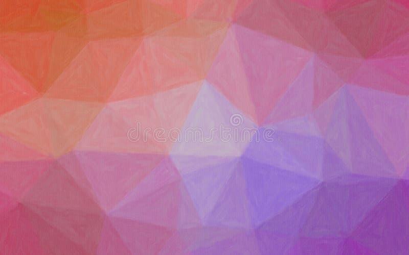 Illustrationen av lilor och röd pastell med färg ökar bakgrund vektor illustrationer