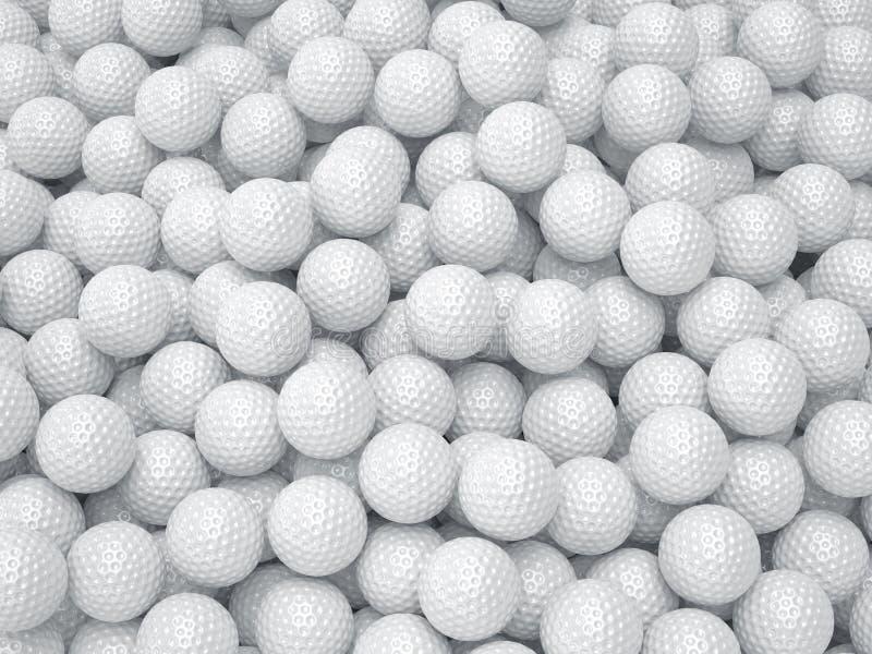 illustrationer för golf för bakgrundsbollkontroll mer min var god portföljsport begrepp isolerad sportwhite stock illustrationer