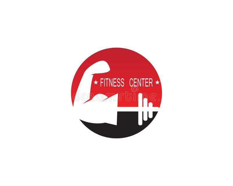 Illustrationicon de vecteur de Logo Design de forme physique illustration stock