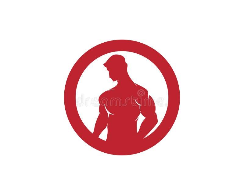 Illustrationicon do vetor de Logo Design da aptidão ilustração do vetor