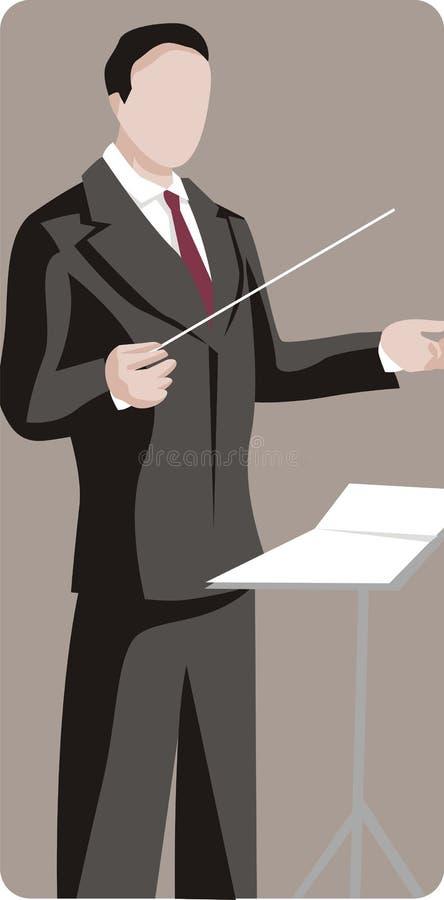 illustrationmusikerserie stock illustrationer