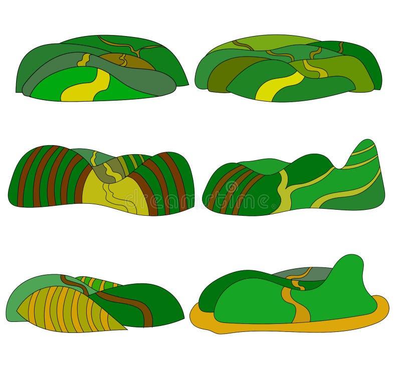 Illustrationplattform för lek royaltyfri illustrationer