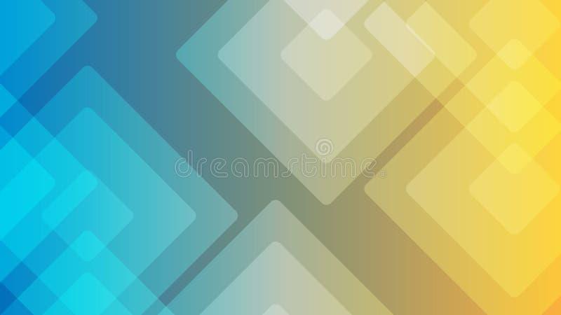Illustrations abstraites ou diverses de fond coloré de conception, cartes de visite professionnelle de visite Futur calibre géomé illustration de vecteur