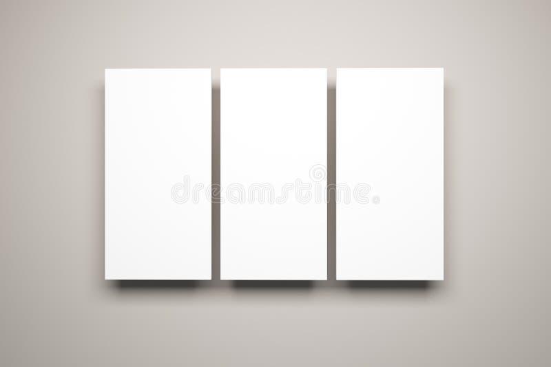 Illustrations blanc sur le mur illustration libre de droits