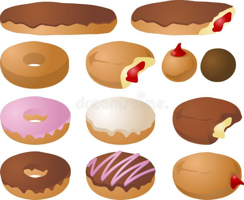Illustrations de beignet illustration libre de droits