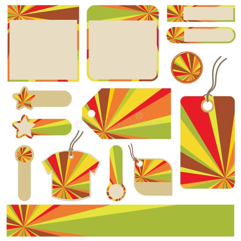 Illustrations de couleur image libre de droits