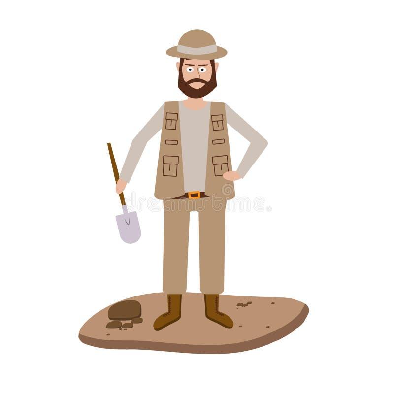 Illustrations de vecteur d'archéologie illustration de vecteur