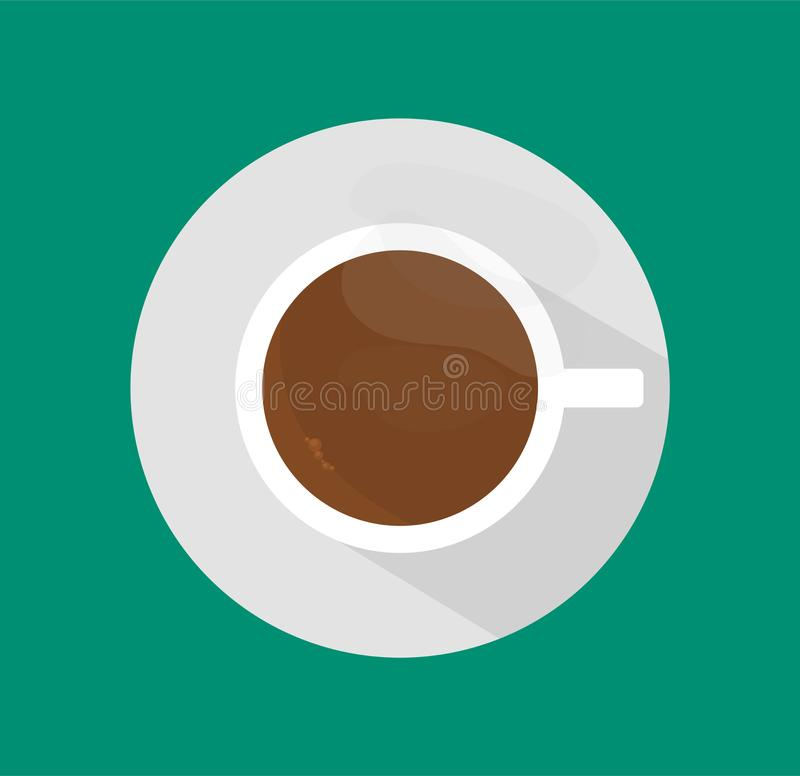 Illustrations de vecteur de Mug_of_hot_coffee illustration stock
