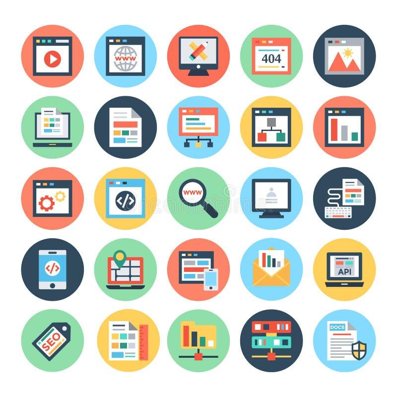 Illustrations 1 de web design et de vecteur de développement illustration de vecteur