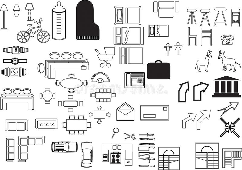 Download Illustrations elements stock vector. Illustration of house - 87854112