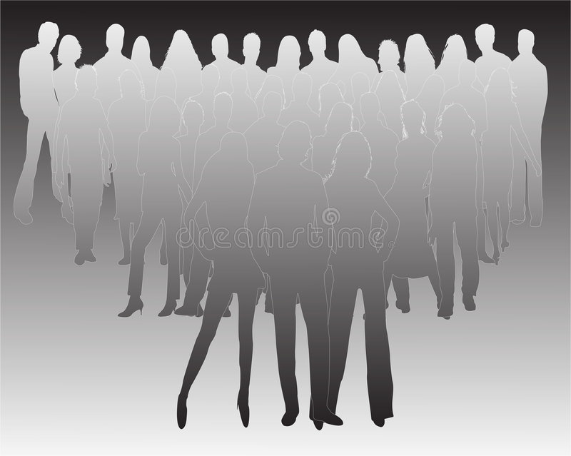 Illustrations of people vector illustration