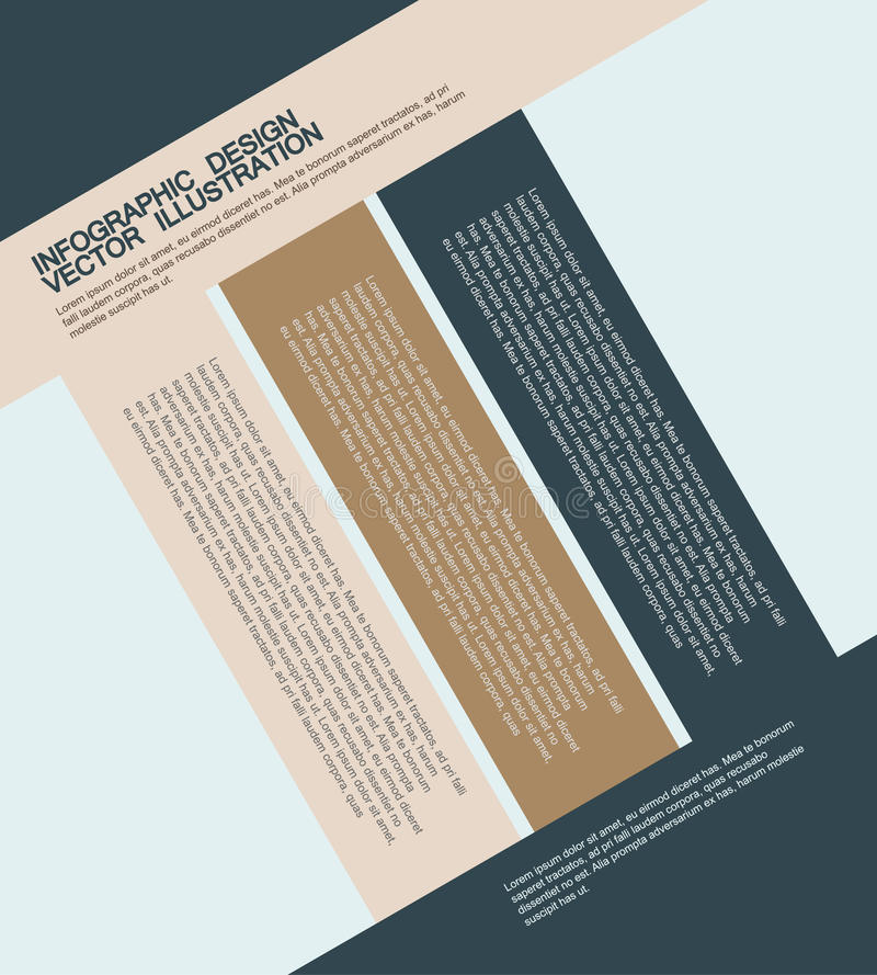 Illustrations plates d'infographics d'affaires photographie stock libre de droits