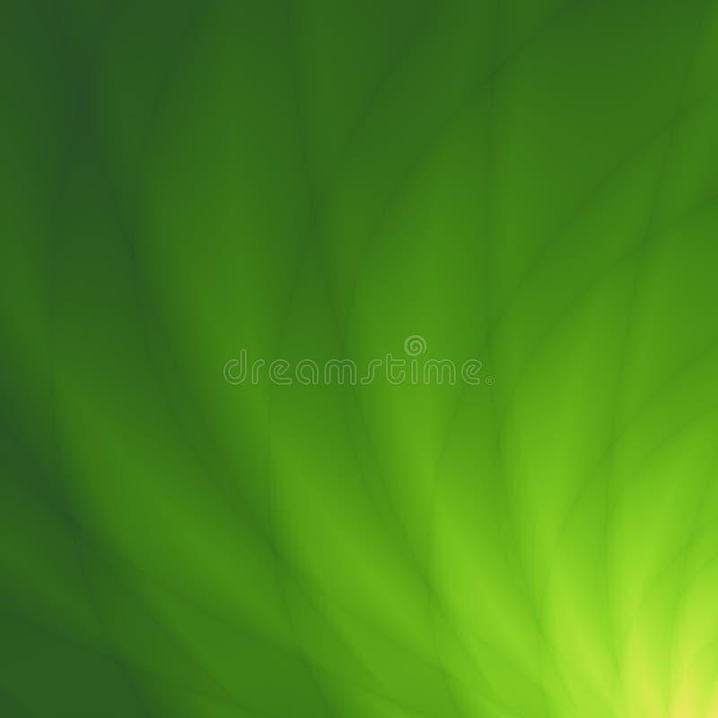 Illustrations-Zusammenfassungsdesign des Blattes grünes vektor abbildung