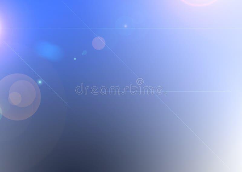 Illustrationsblauhintergrund stockfoto