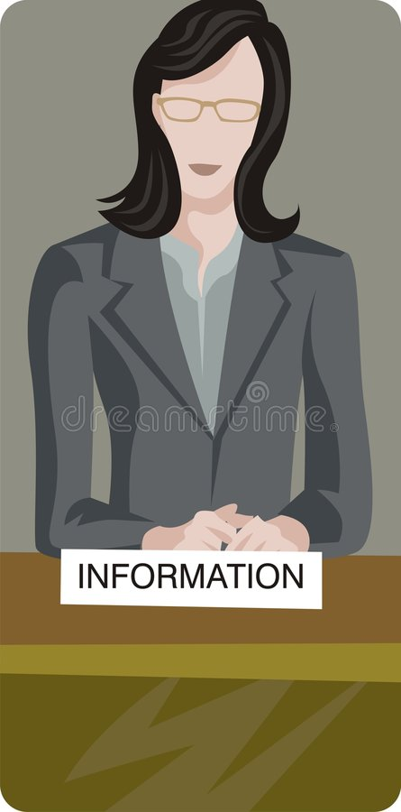 illustrationserieservice royaltyfri illustrationer