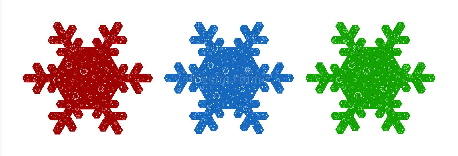 Download Illustrationsnowflake vektor illustrationer. Illustration av säsongsbetonat - 3537070