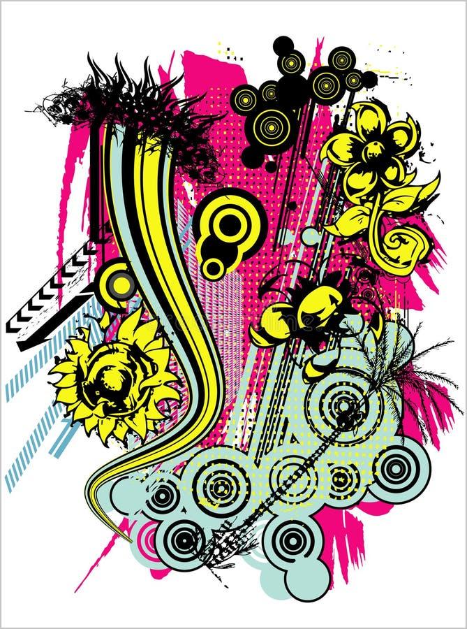 illustrationstryckskjorta t vektor illustrationer