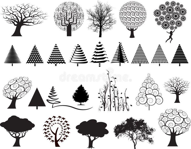 illustrationtree stock illustrationer