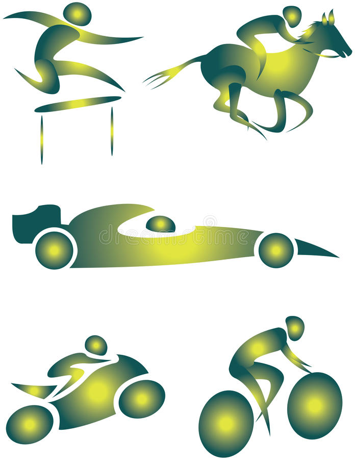Download Illustrative icon stock illustration. Image of character - 15610880
