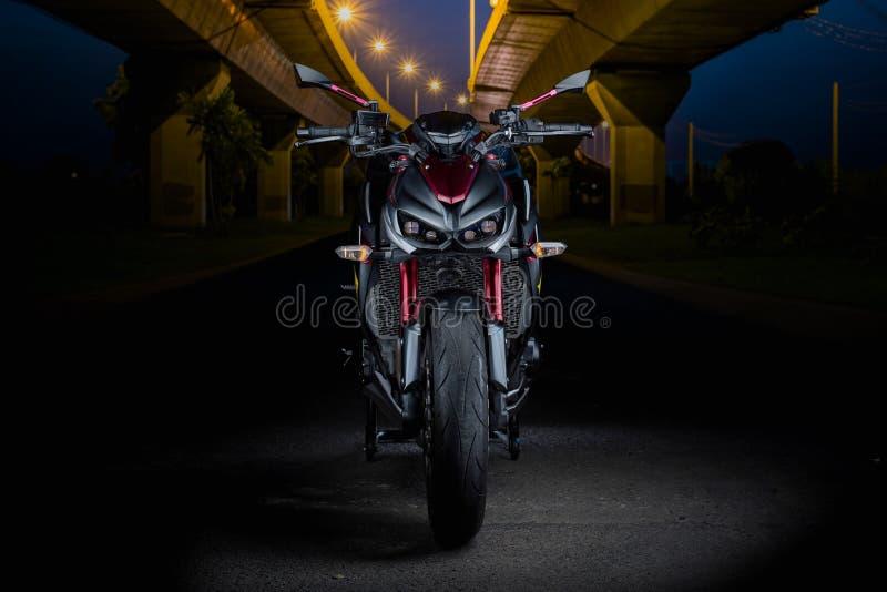 illustratives redaktionelles Kawasaki Z 1000 in Bangkok Thailand Se 2 lizenzfreie stockfotos