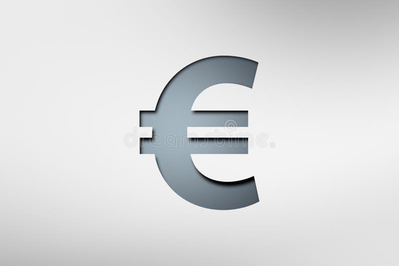 Illustrativt finanspengartecken vektor illustrationer