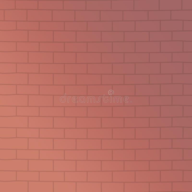 Illustratore di vettore di progettazione della parete di mattoni illustrazione di stock