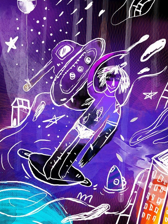 Illustrazione immagine stock
