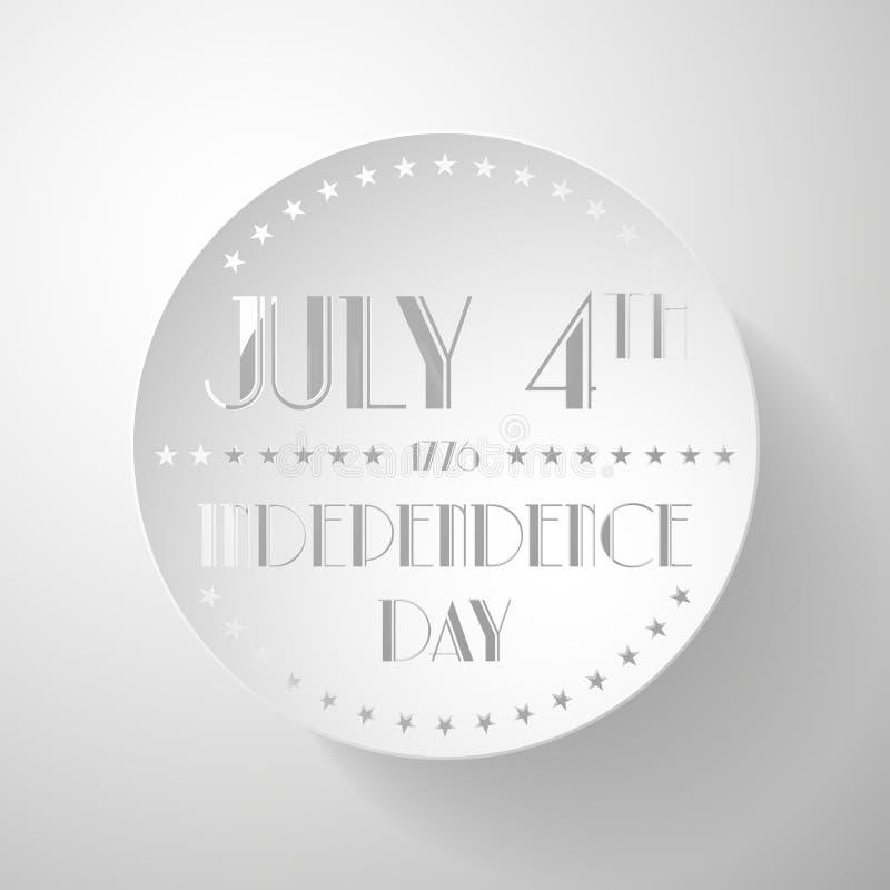 Download Illustrazione Americana Di Festa Dell'indipendenza Illustrazione Vettoriale - Illustrazione di banda, giorno: 55358681
