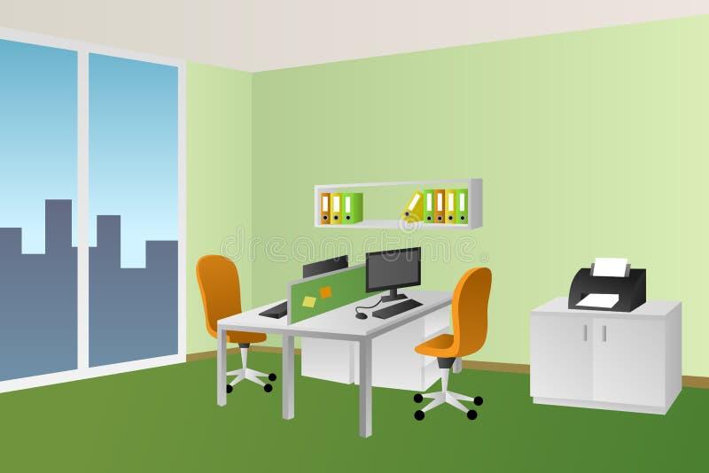 Sedie Ufficio Arancio : Illustrazione arancio della finestra della sedia della tavola