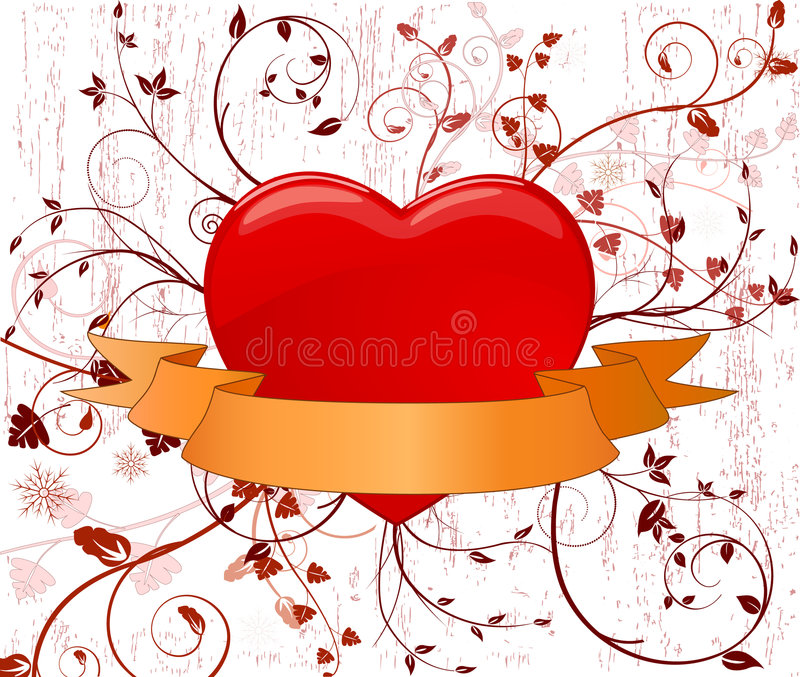 Download Illustrazione Artistica Di Disegno Di Vettore Del Cuore Illustrazione Vettoriale - Illustrazione di sposato, segno: 3890057
