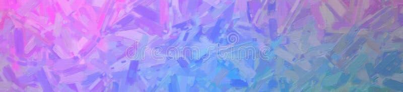 Illustrazione astratta del fondo astratto verde blu e rosa dell'insegna della pittura a olio, digitalmente generata illustrazione vettoriale