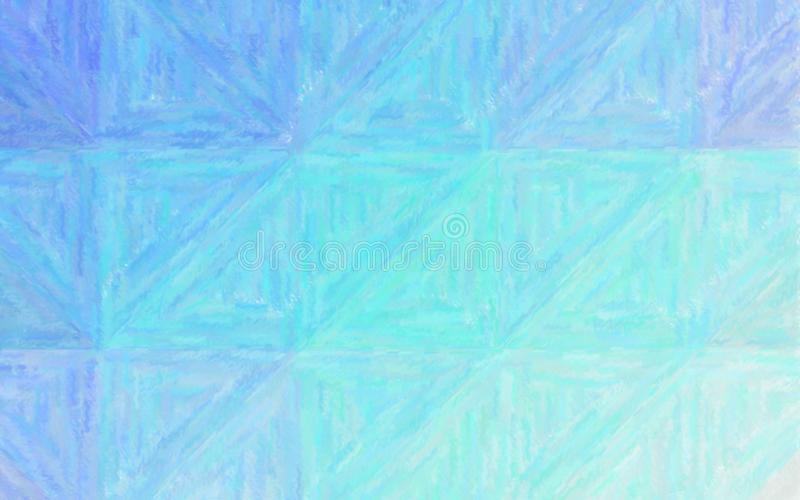 Illustrazione astratta del fondo blu e verde del pastello, digitalmente generata illustrazione vettoriale