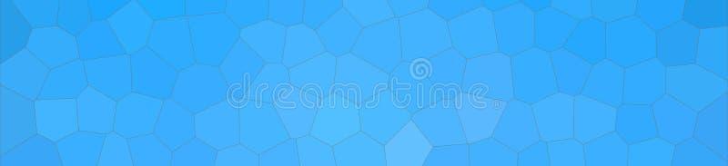 Illustrazione astratta del fondo medio pastello blu dell'insegna di esagono di dimensione dell'evasore, digitalmente generata illustrazione di stock