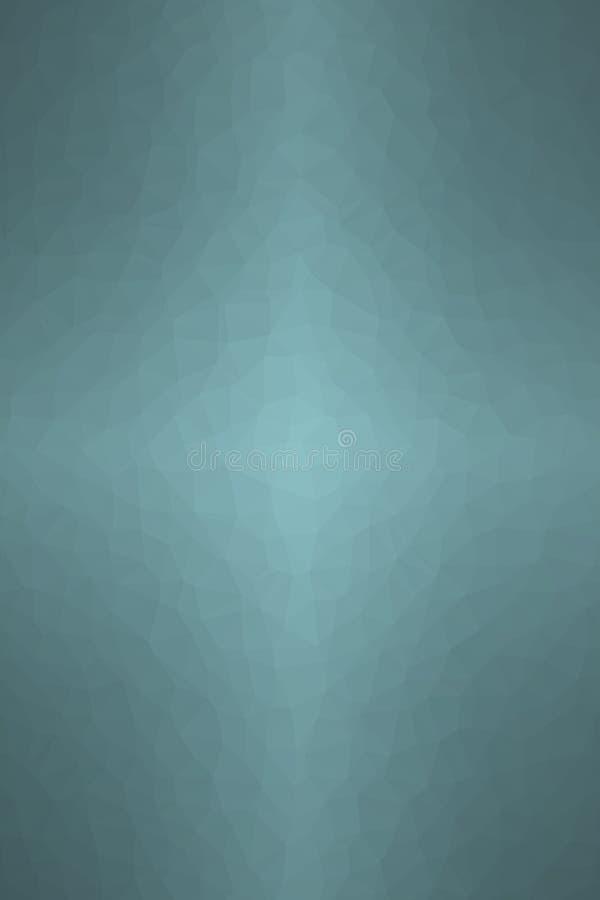 Illustrazione astratta del verticale wintergreen il fondo del poligono del triangolo, digitalmente generata illustrazione vettoriale