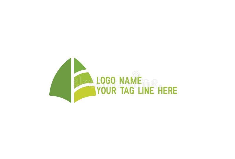 Illustrazione astratta di progettazione di logo illustrazione vettoriale